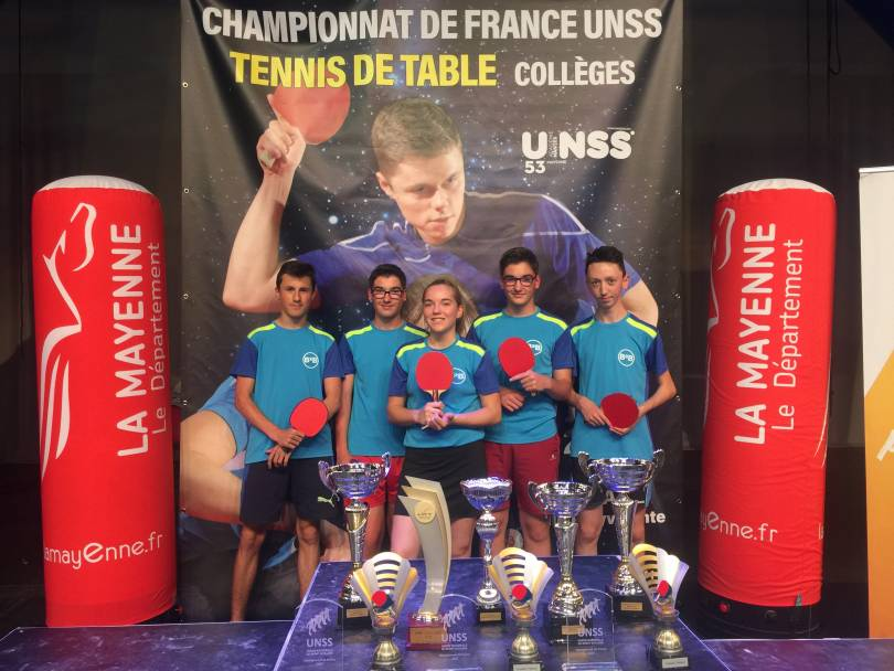 Championnats de france tennis de table cit scolaire - Championnat de france de tennis de table ...